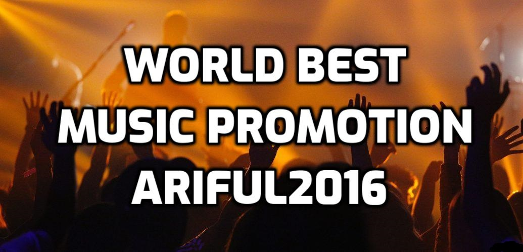 World best music promotion through music lover