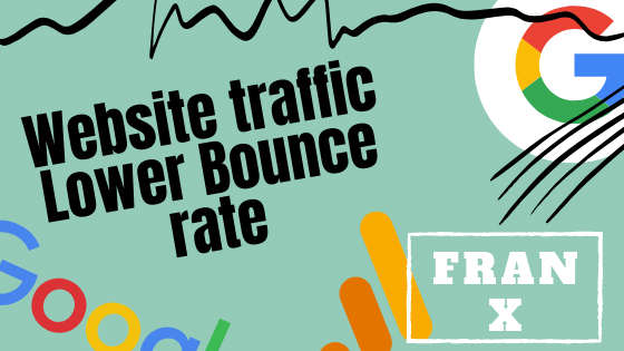 Low bounce rate Search engine traffic