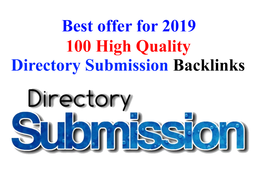 High Quality 100 Directory Submission within 24 Hours