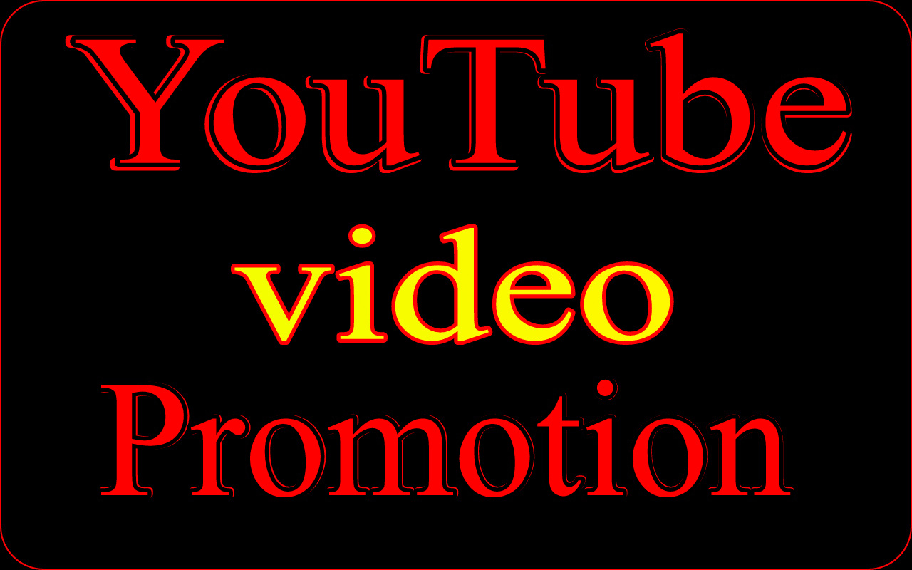 YouTube video marketing via world wide real users