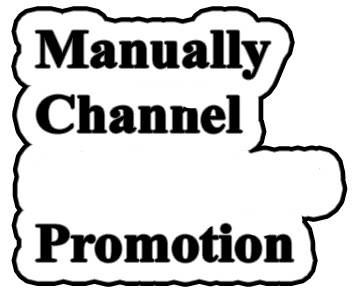 YouTube Account Promotion Via Real Users