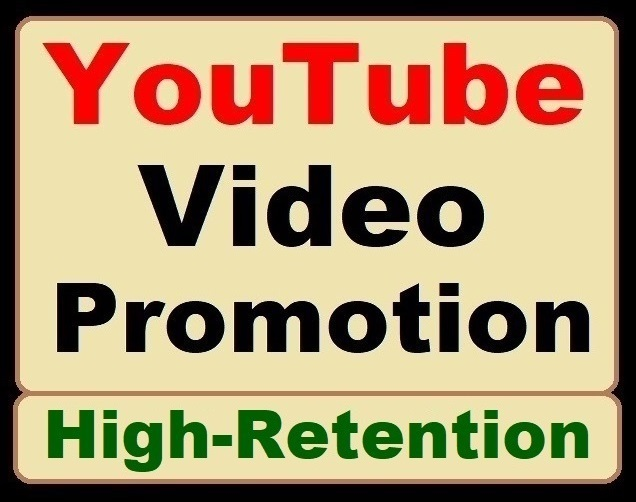 YouTube Video Promotion and Social Media Genuine Marketing