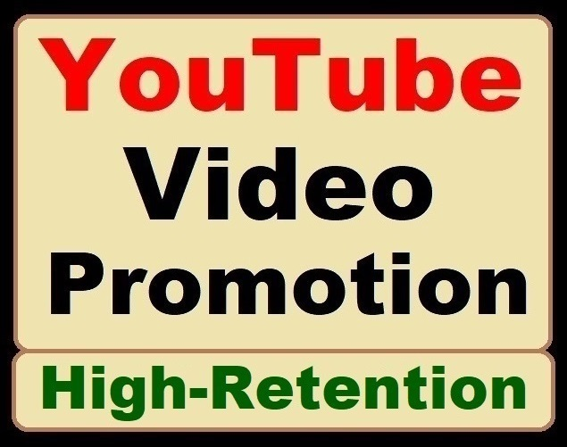 YouTube Video Promotion and Social Media Standard Marketing