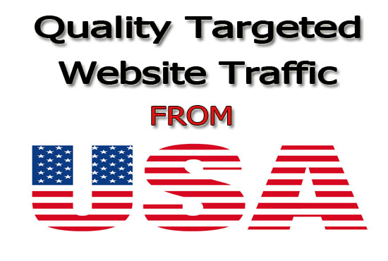 Drive Real Web Traffic Targeted From USA