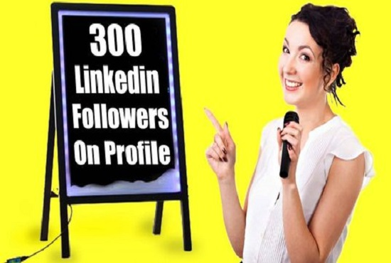 deliver 300 LinkedIn Followers