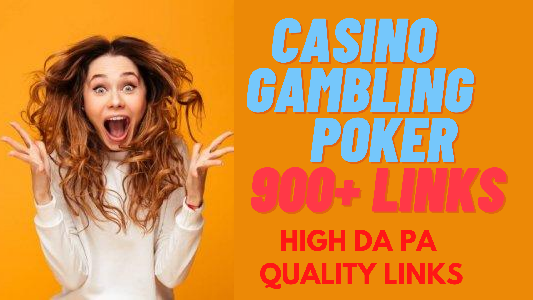 I Will Create ADULT & CASINO 800+ High DA PA Tired Backlinks to Boost Your Google Ranking Quickly