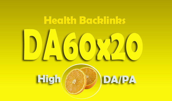 Give You Backlink Da60x20 Health Permanent Blogroll