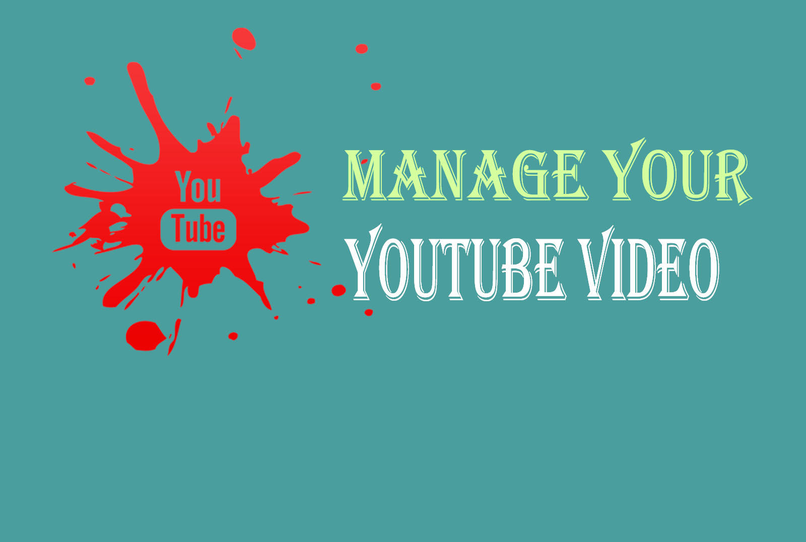 Manage and promote your video social media marketing
