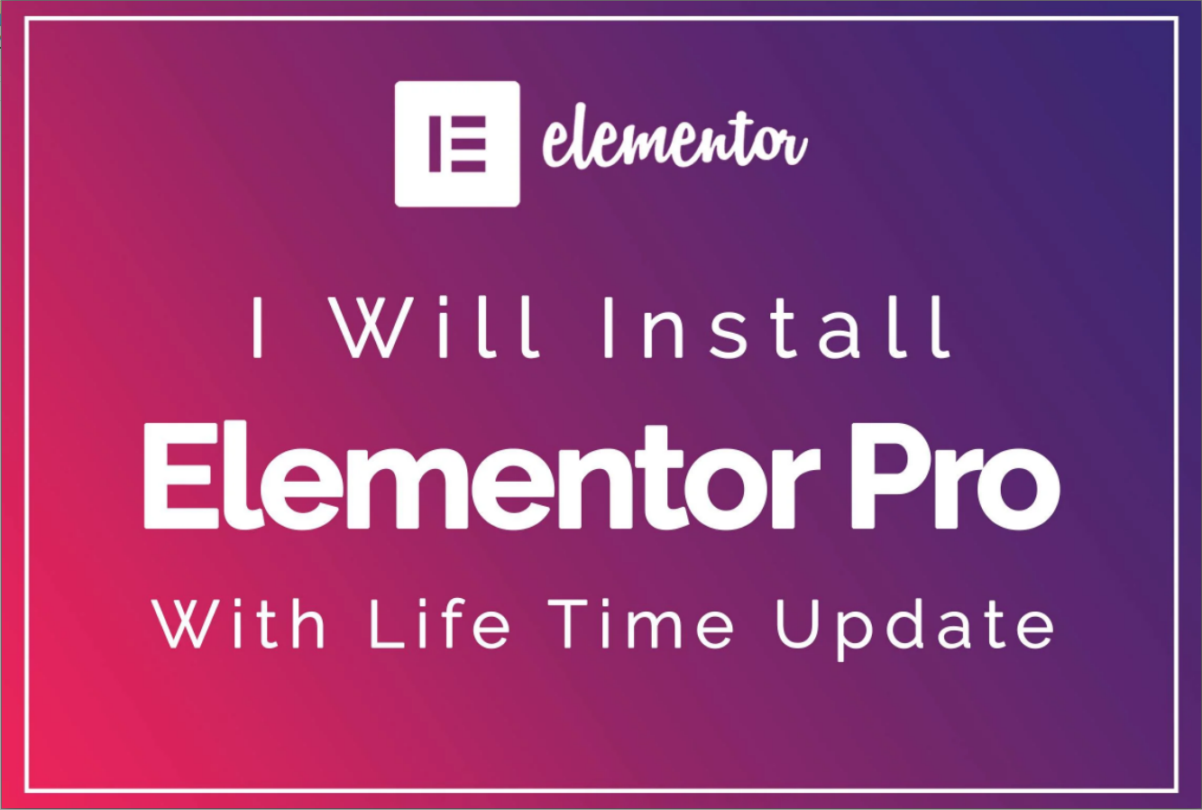 Design WordPress Landing Page Or Full Website With Elementor Pro Page Builder