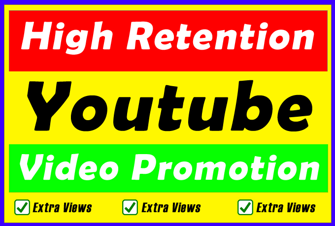 High Retention Youtube Video Promotion and Marketing