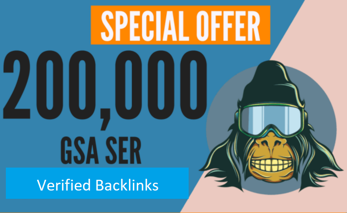 Build 200,000 GSA Ser,  Quality Backlinks For Seo Rankings