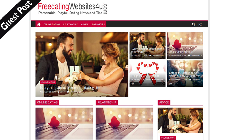 Write And Publish Dofollow Guest Post On Dating Blog