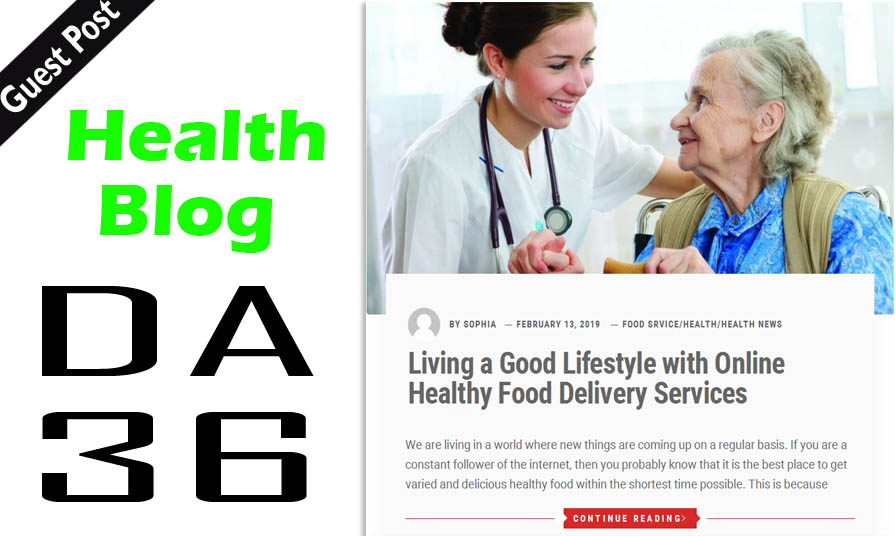 Write And Publish Dofollow Guest Post On Health Blog ...