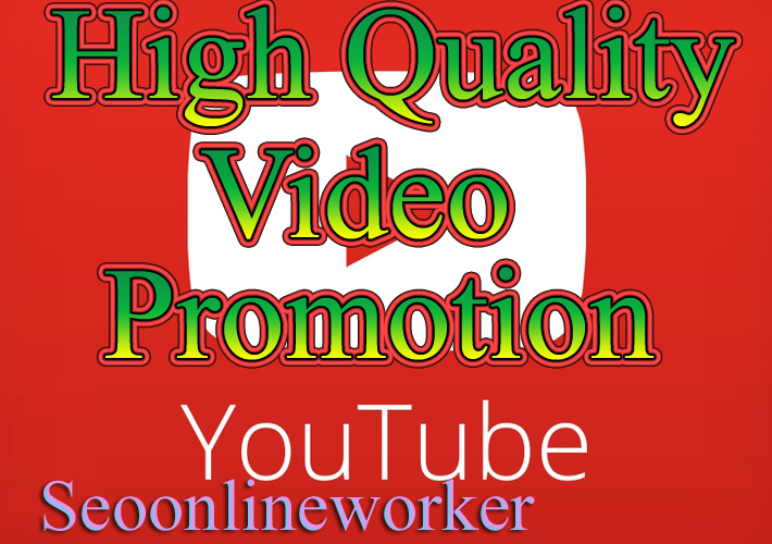 YouTube Video Promotion Fast Delivery
