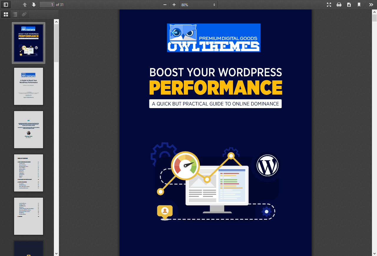 improve your WordPress Performance