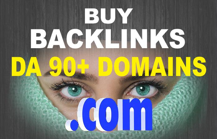 Ultimate Booster 10 High DA 90+ Backlinks To Dominate Google