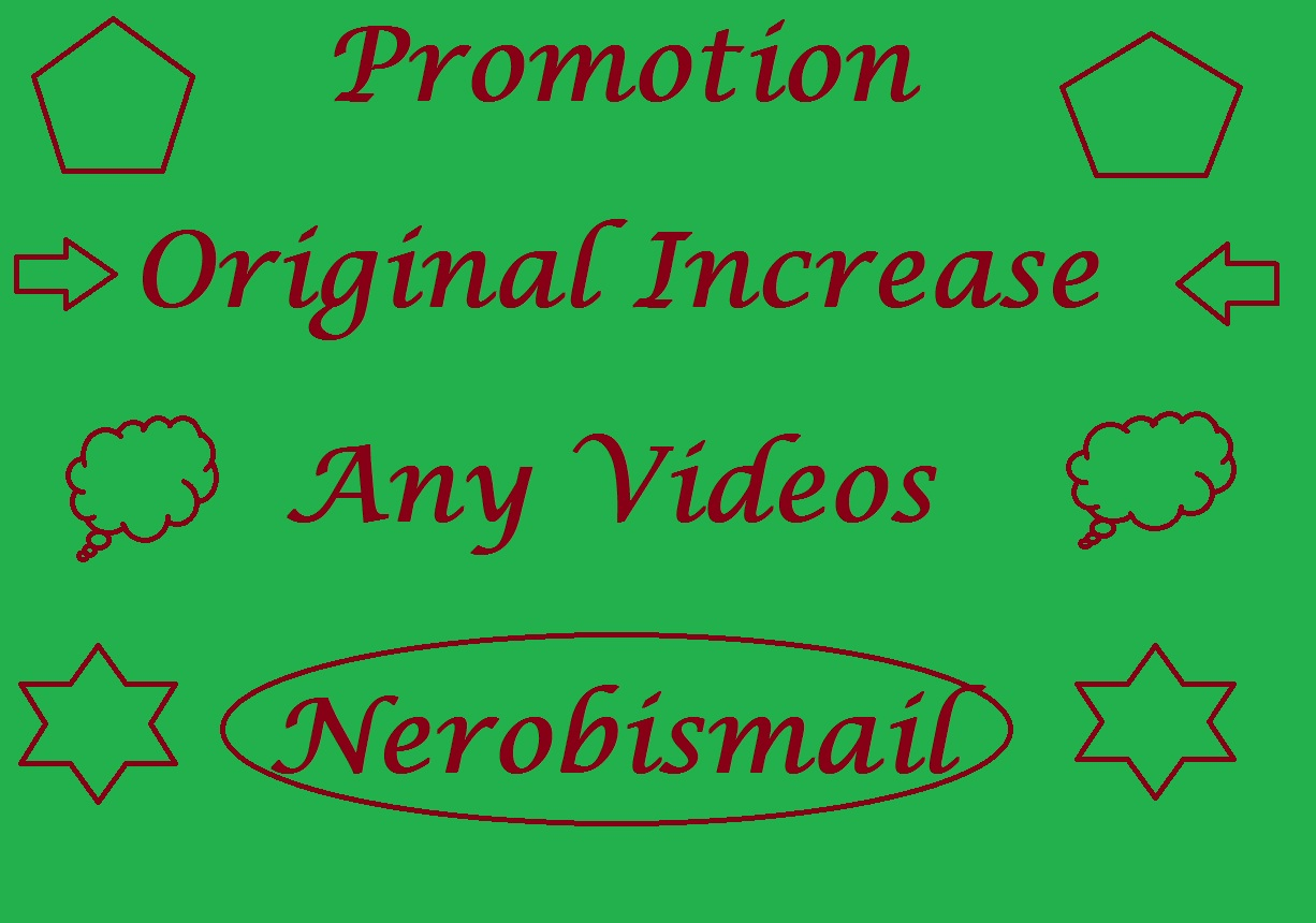 Increase Any Real World Wide Videos Promation