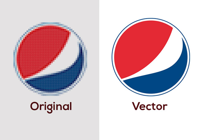 I will vectorize, trace to vector professionally clean up logo