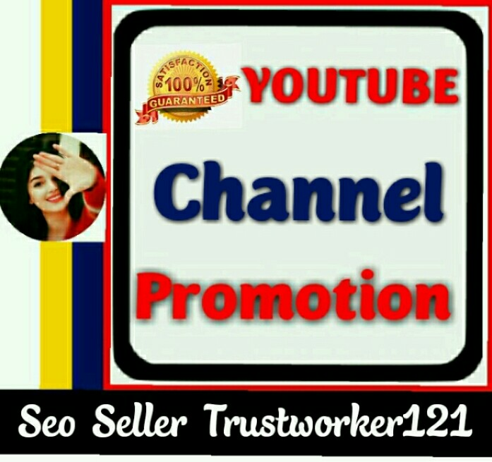 Real human channel promotion in social media marketing