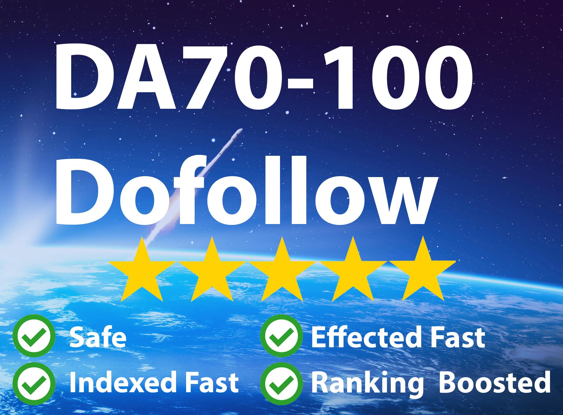 Manual 20 DA70+ backlink High Domain Authority Unique Backlink
