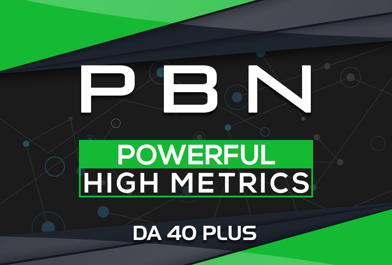 Powerful 70 High Metrics DA40+ PBN Backlink