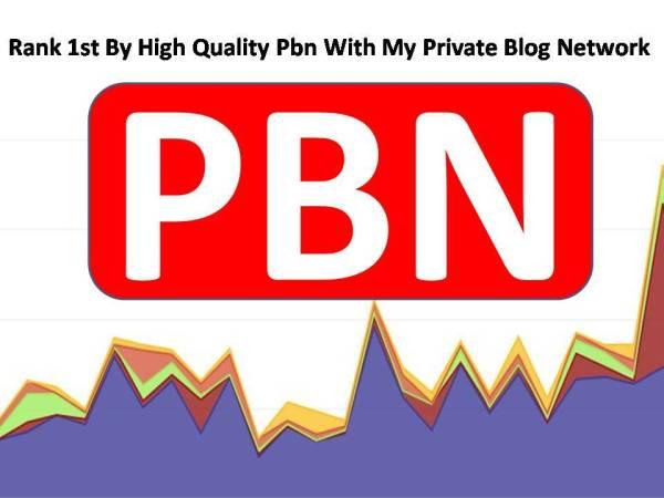 create 3 permanent Dofollow high da pbn links