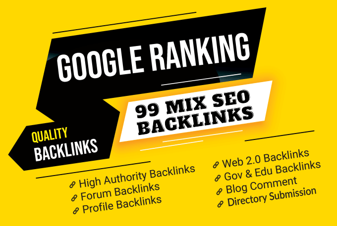 Boost Your Website Ranking with Our 99 SEO BACKLINKS