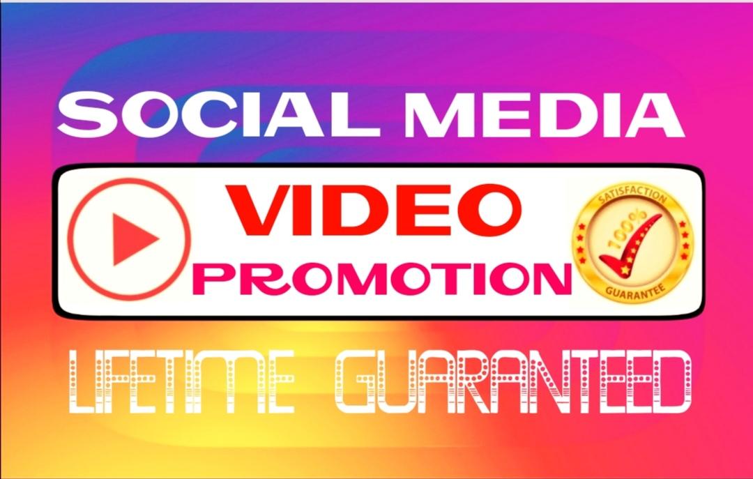 Add worldwide video promotion professionally