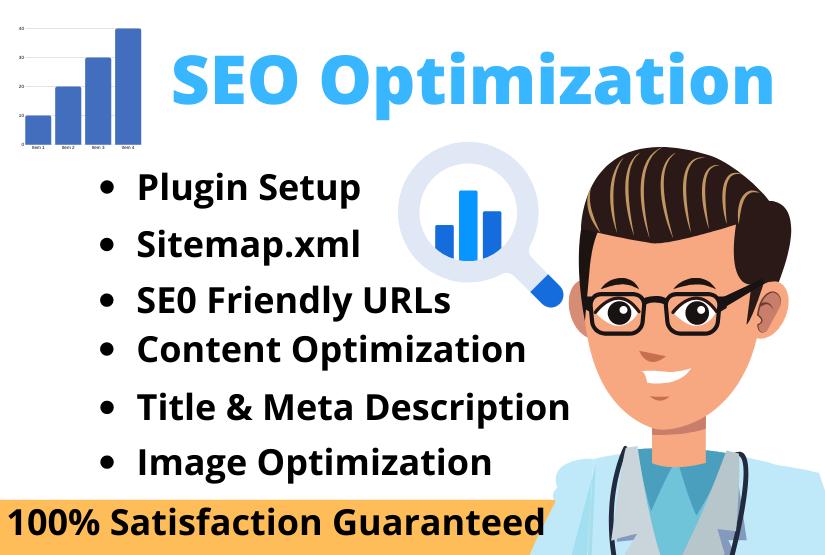 I will do SEO optimization for website google ranking