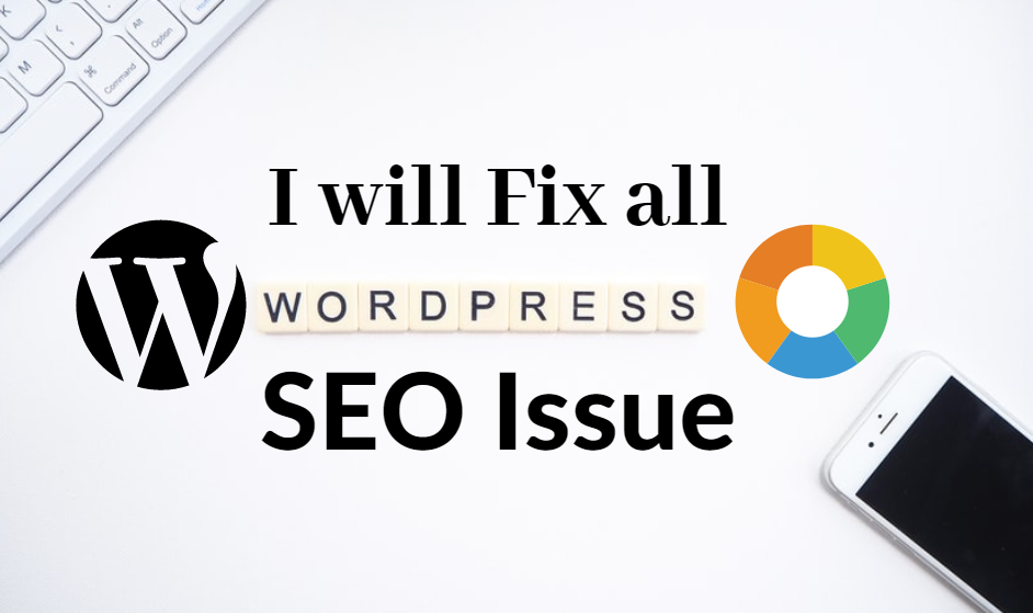 I will fix all wordpress website seo issue