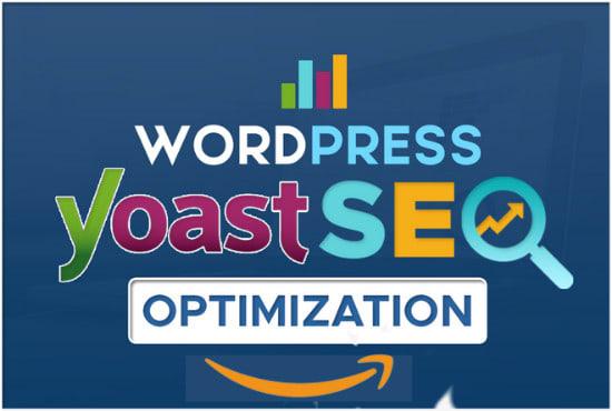 I will do wordpress yoast and technical seo optimization,  meta tag,  image alt tag