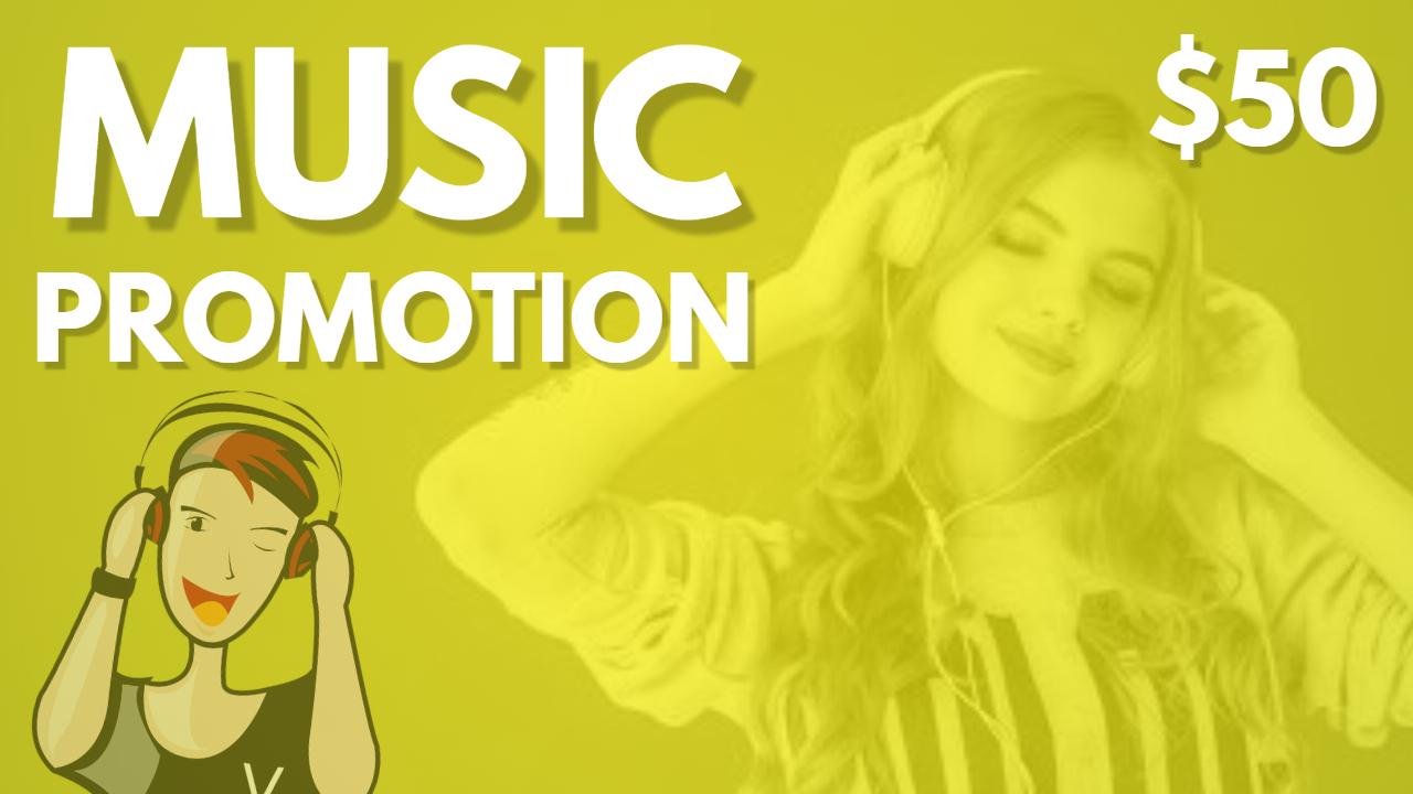HQ Music Promotion Real Advertisement Album Playlist Artist