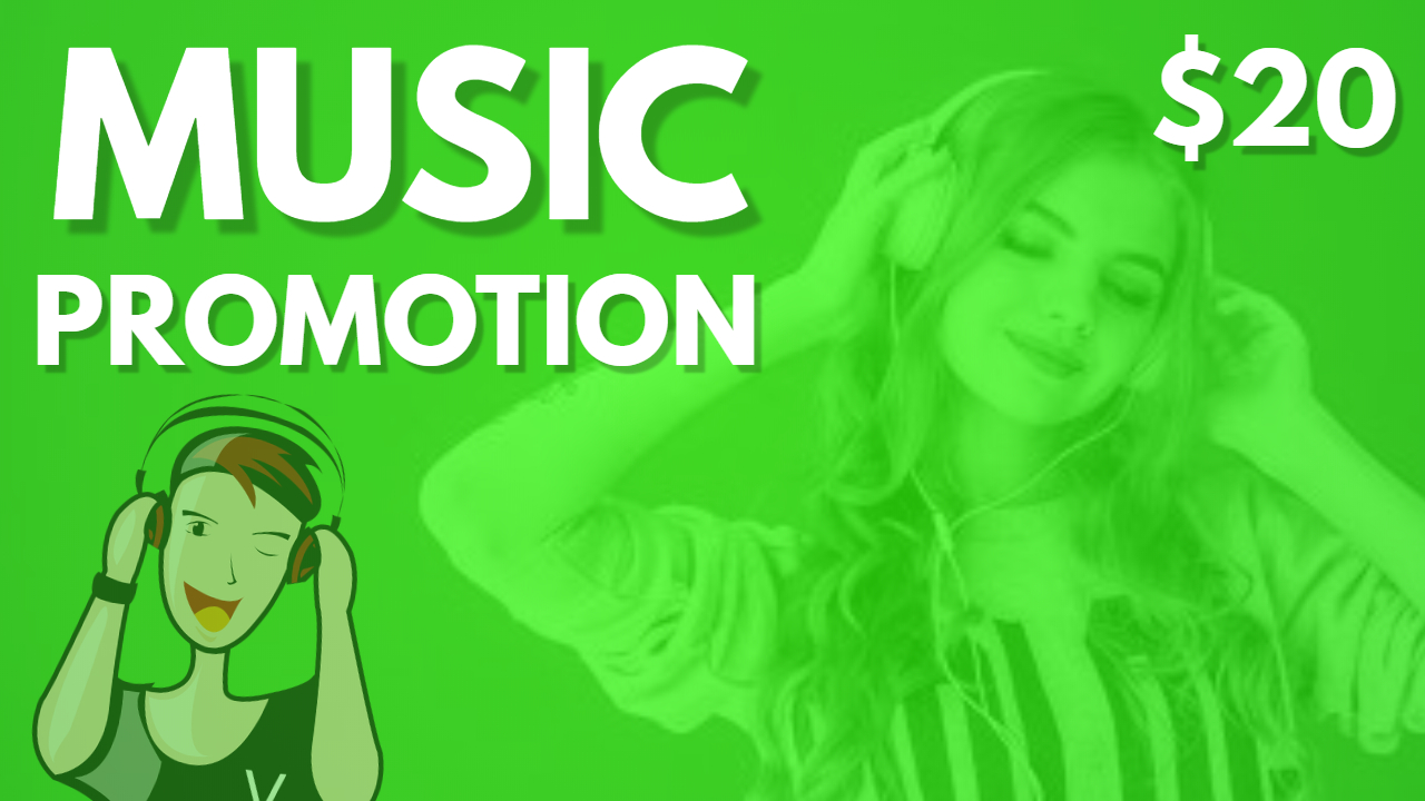 Music Marketing Promotion Album Playlist Artist With Real Advertisement