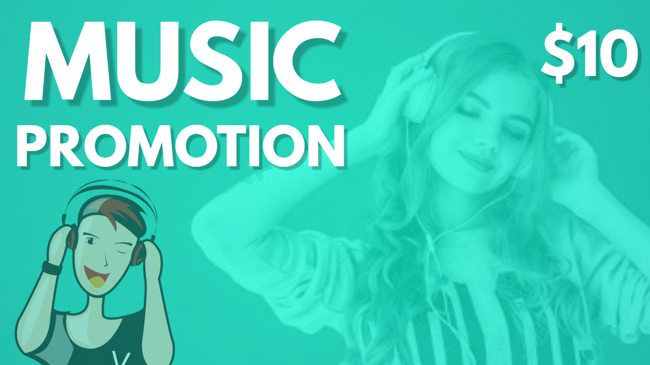Music Marketing Album Playlist Artist Promotion With Real Advertisement