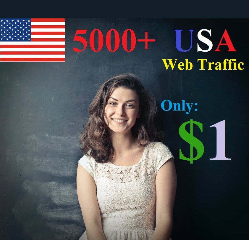 5000+ Traffic for Websites/ Blogs from USA continent
