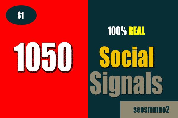 1050 Permanent Google+ share, Weblike share, Pinterest, Reddit Top SEO Social Signals