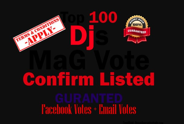 promote 100 votes Different ip votes on your poll contest