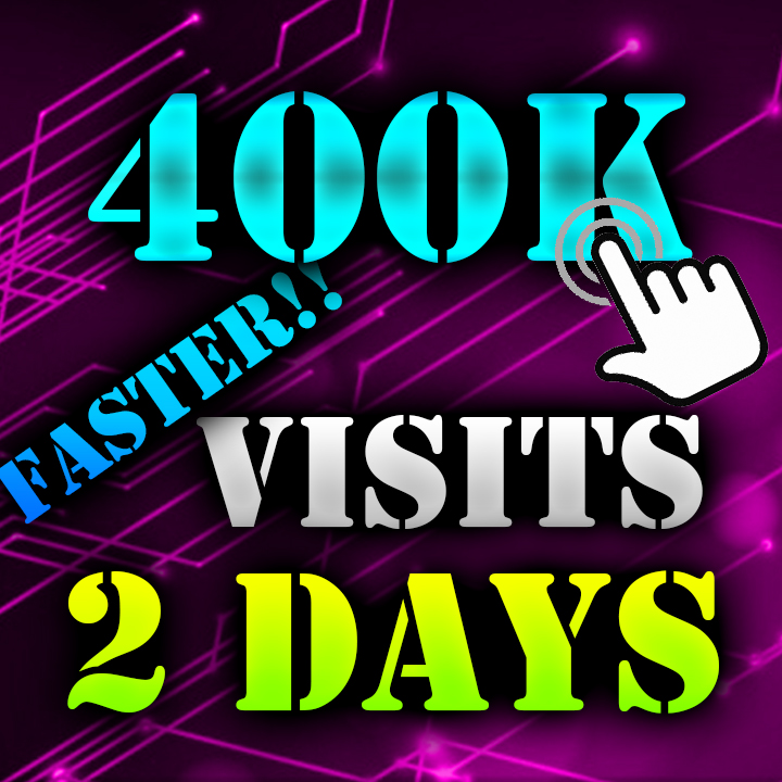 400K Visitors to your Website ON 2 DAYS