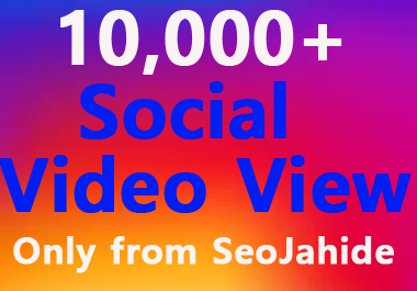 INSTANT SOCIAL VIDEO PROMOTION & MARKETING SUPPER FAST