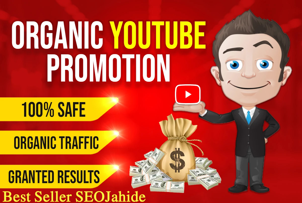I WILL DO FAST YOUTUBE VIDEO & CHANEL PROMOTION VIA REAL AUDIENCE