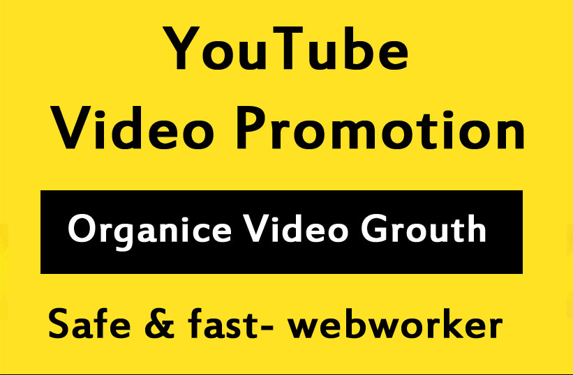 YouTube Video promotion and social media Marketing in 12 Hours
