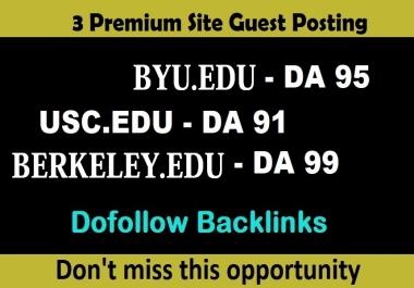 publish EDU guest posts DA 80+ with Dof0llow links