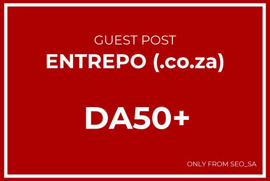 Manually Create Guest Post on Entrepo. co. za
