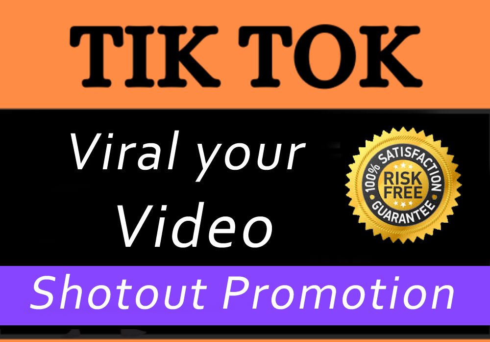 High Quality TikTok Video and Account Promotion Marketing With Fast Delivery Via Social Sharing