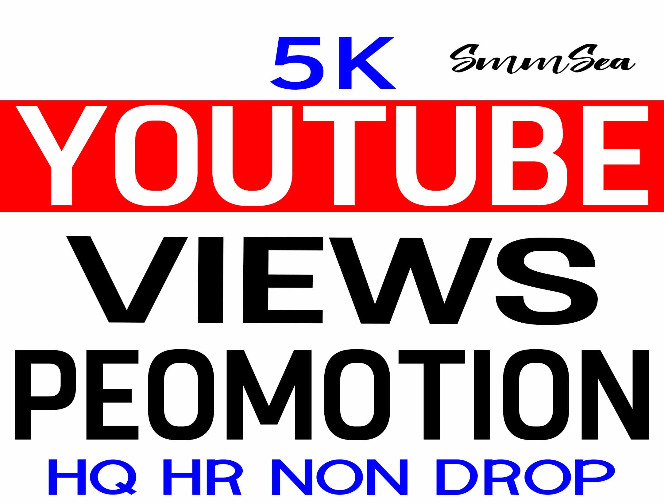 INSTANT START YOUTUBE VIDEO PROMOTION NON DROP & HIGH QUALITY