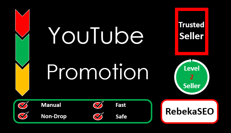 YouTube Promotion Fast & Non Drop Guarantee