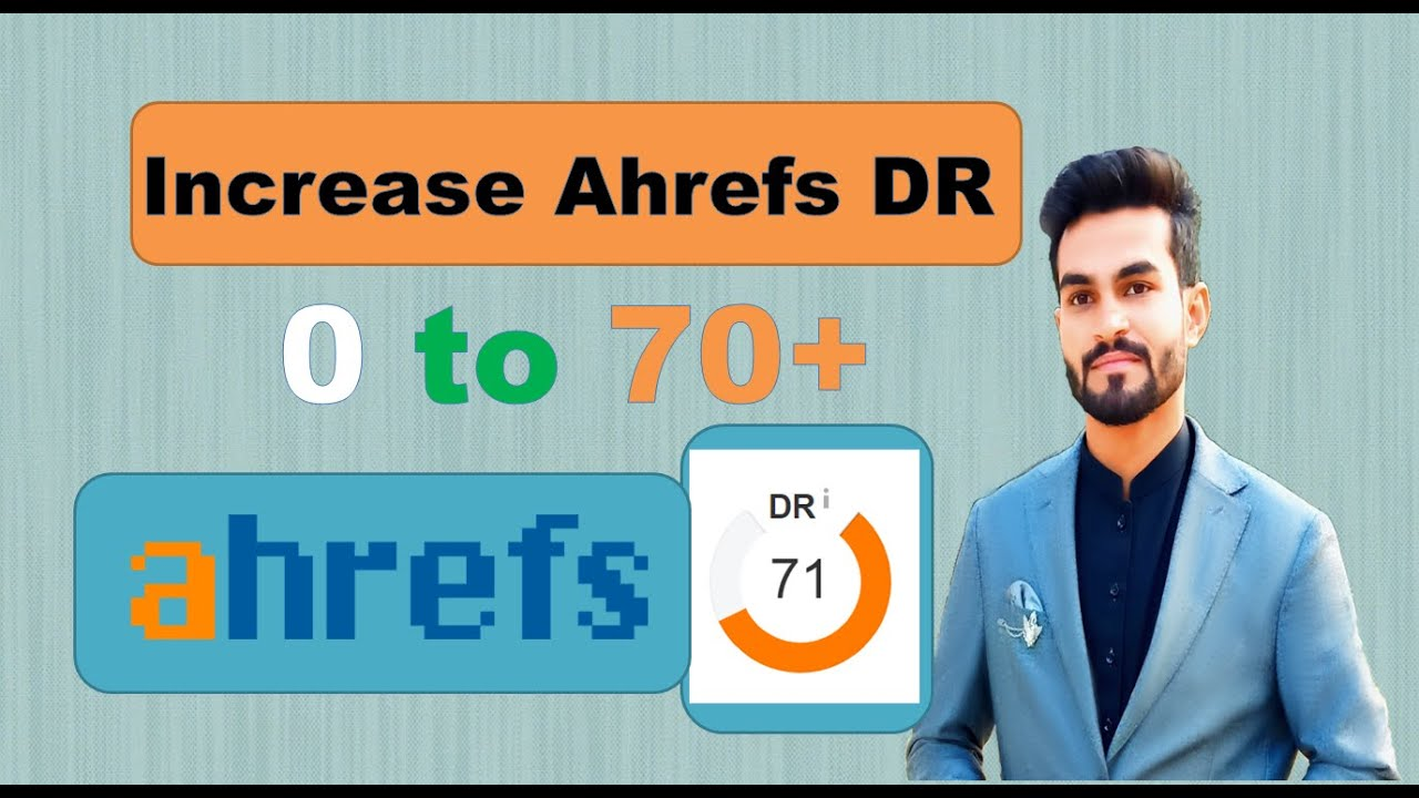 increase ahrefs domain rating DR 70+ very fast