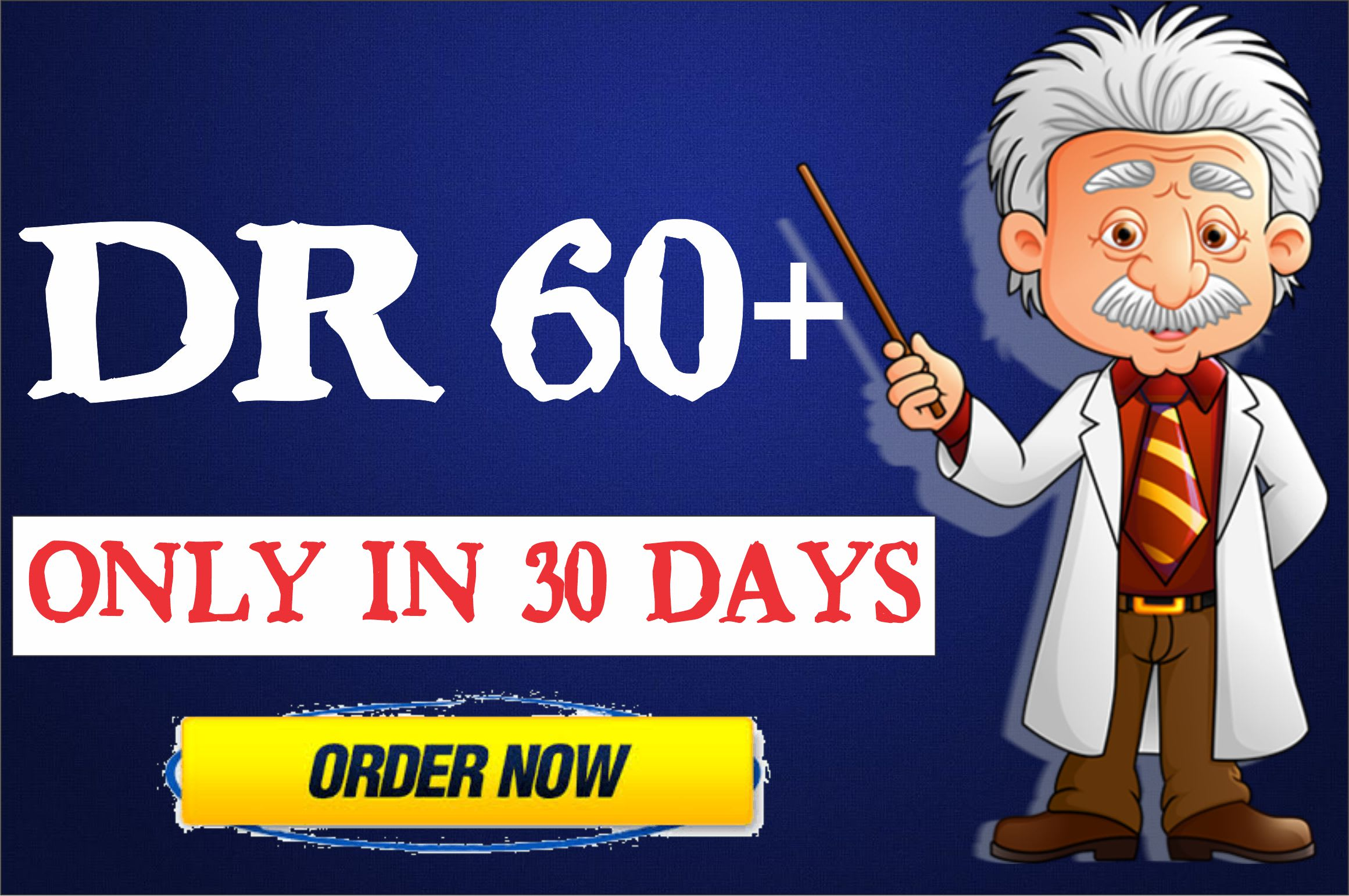 increase ahrefs domain rating DR 60+