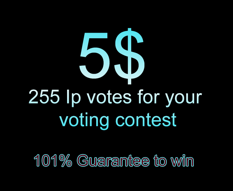 Add 110 ip votes for your online voting contest