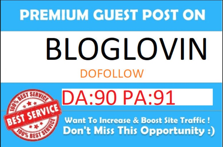 I will publish your article on bloglovin